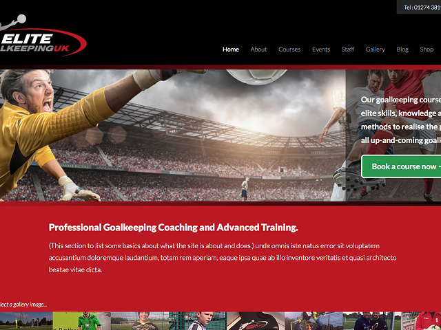 New Goalkeeping site launched!